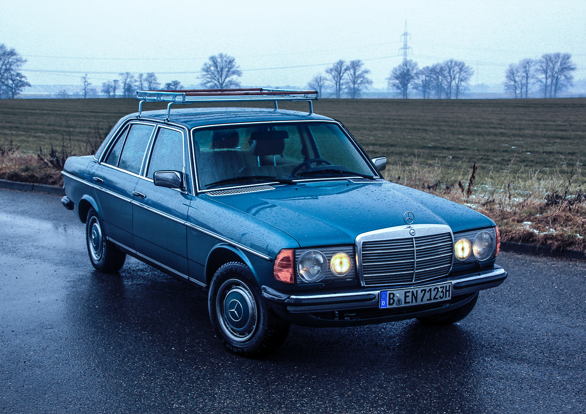 1982 Mercedes-Benz 230E - gone