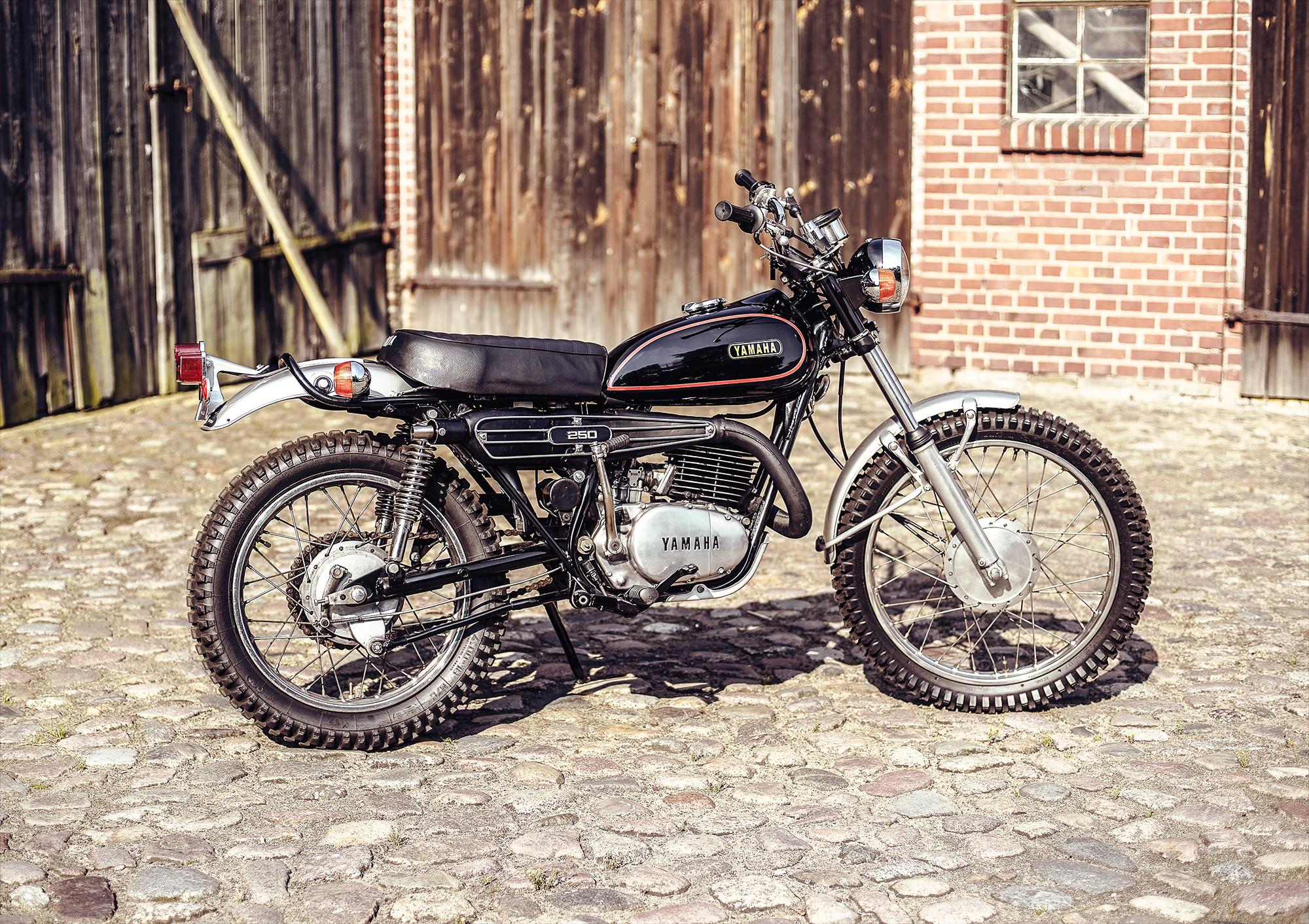 1973 Yamaha DT2 250