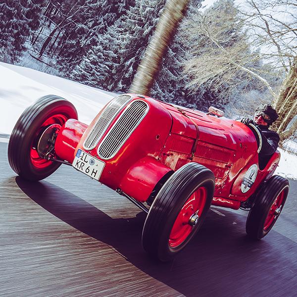 """The 1934 Stösser-BMW """"KR6"""""""